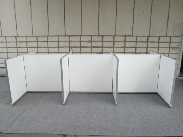okamura【中古】POSIT ローパーテーション H1120 支柱付 11枚セット