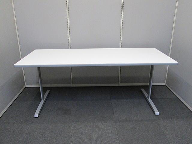 ミーティングテーブル (株)オカムラ 8177シリーズ【中古品】W1800×D750 オフィス家具 4~6人用