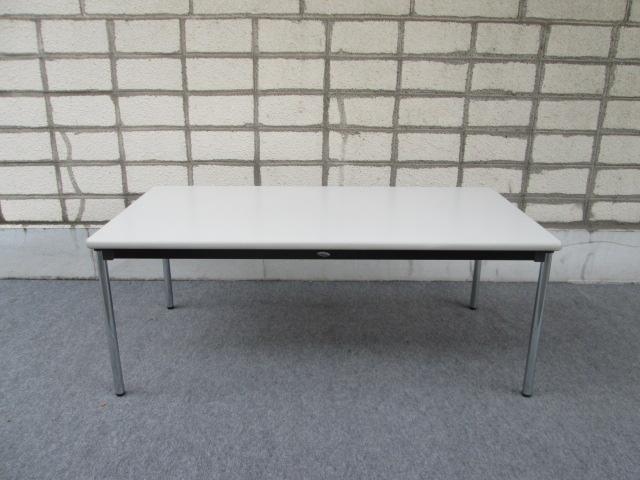 【中古品】AICO 会議テーブル 幅1800x奥行900mm 4~6人用