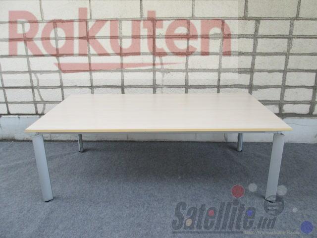 【中古】オカムラ 会議・ミーティングテーブル DL-6 2111 table【W2100×D1100】
