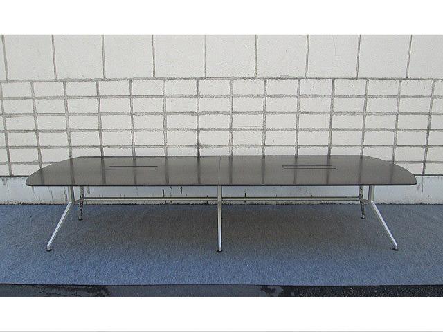 【中古オフィス家具】イトーキ 会議用テーブル DDシリーズ 配線対応天板仕様【中古品】10~12人用