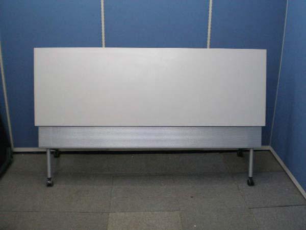 会議テーブル オカムラ NESTIA 1860 ライトグレー【中古品】