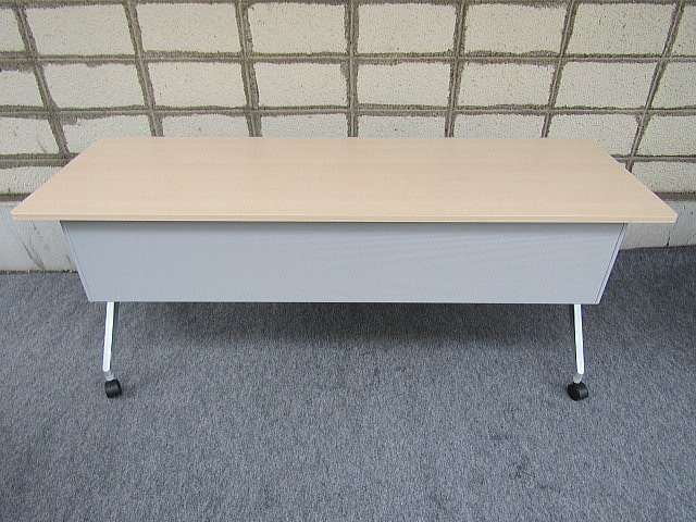 コクヨ W1800×D600×H720 棚無し折り畳み式テーブル【中古品】