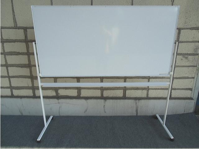 【中古品】PLUS ホワイトボード 片面 プロジェクター投影タイプ