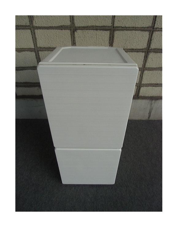 【中古品】ユーイング 2ドア冷凍冷蔵庫 110L UR-F110H 2016年製