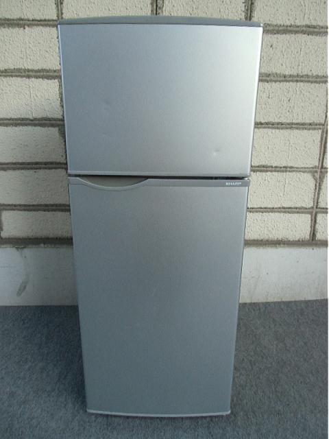 【中古家電】 冷凍冷蔵庫 118L シャープ SJ-H12Y-S 2015年製 2ドア
