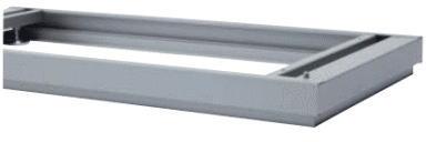 【オプションパーツ】インナー付ベース(EMG) INABA Line Unit TF 壁面収納ユニット用☆【W900×D400×H50mm】