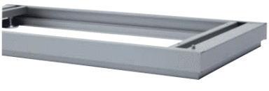 【オプションパーツ】インナー付ベース(EMG) INABA Line Unit TF 壁面収納ユニット用☆【W900×D450×H50mm】