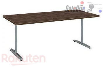 テーブル オフィス家具 会議室 okamura 2020新作 机 打ち合わせテーブル T脚タイプ 1800W×900D 8177ミーティングテーブル オカムラ 爆安プライス