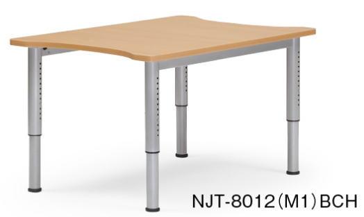 アイコ NJTテーブル 塗装脚タイプ 会議用テーブル W800×D1200
