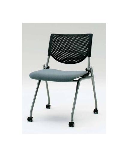 オフィス家具 Prostack okamura 肘なしプレーンタイプ ミーティングチェア