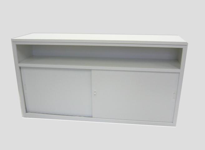 受付カウンター オフィス収納 W1800 TM-1890H☆ホワイト