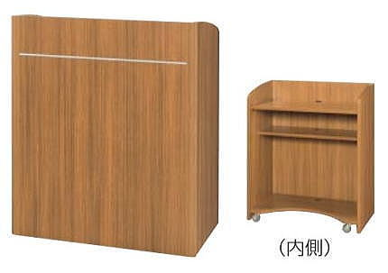 TOYO EDSR型 演台 キャスター付 W900 新品