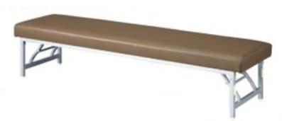 ロビーチェア 長イス 脚折りたたみ式 タイプMC-7BS