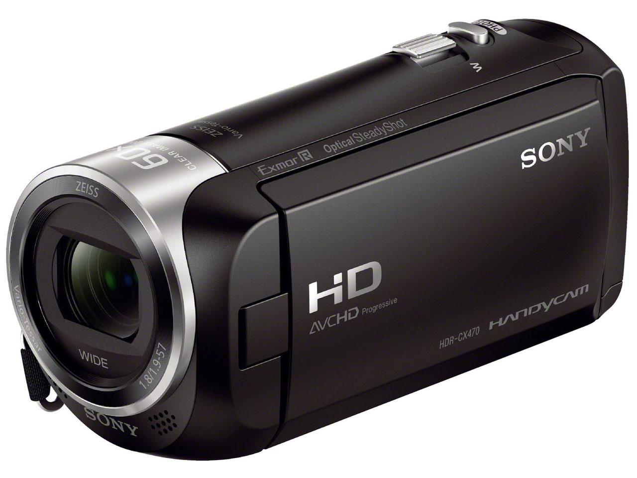 SONY HDR-CX470 (B) [ブラック]【お取り寄せ(4週間程度での入荷、発送)】