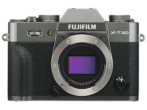 FUJIFILM X-T30 ボディ [チャコールシルバー]【お取り寄せ商品(3週間~4週間程度での入荷、発送)】