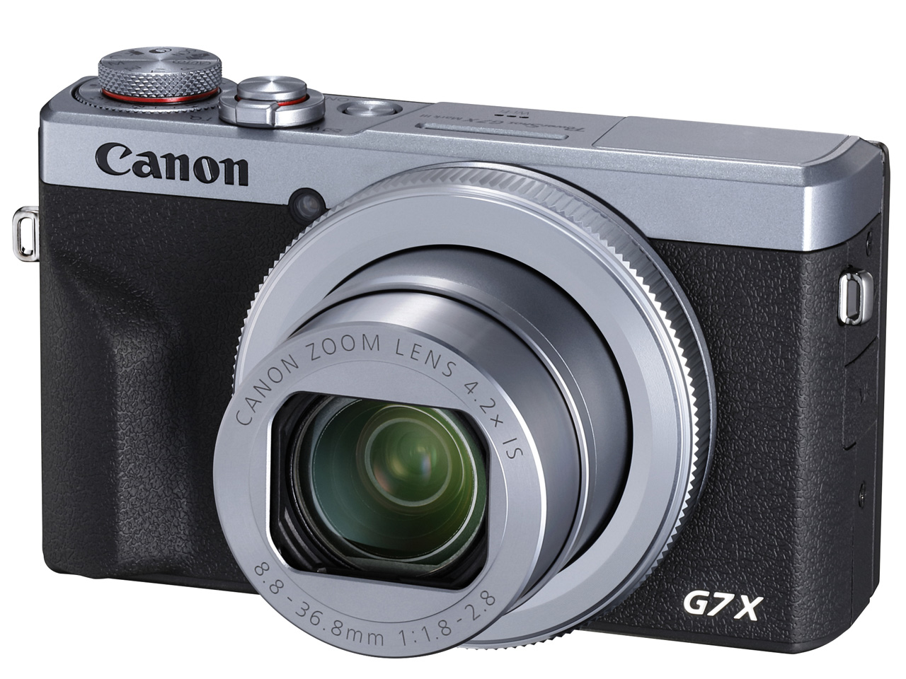 Canon PowerShot G7 X Mark III [シルバー]【お取り寄せ(4~5週程度)での入荷、発送】