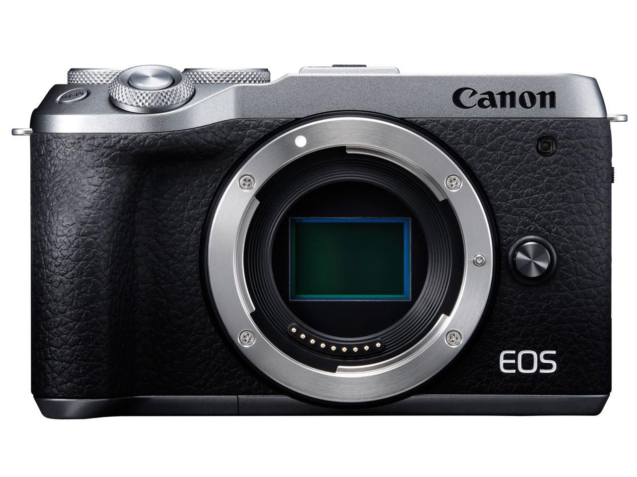 Canon EOS M6 Mark II ボディ [シルバー]【お取り寄せ商品(3週間~4週間程度での入荷、発送)】