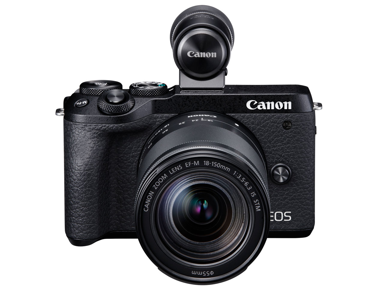 Canon EOS M6 Mark II EF-M18-150 IS STM レンズEVFキット [ブラック]【お取り寄せ商品(3週間~4週間程度での入荷、発送)】