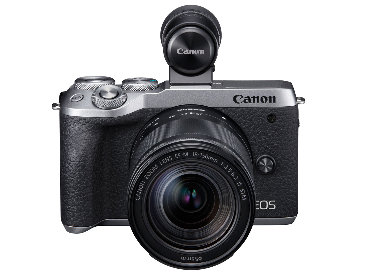 Canon EOS M6 Mark II EF-M18-150 IS STM レンズEVFキット [シルバー]【お取り寄せ(メーカー取り寄せ/予約受付中)】※1~2ヶ月
