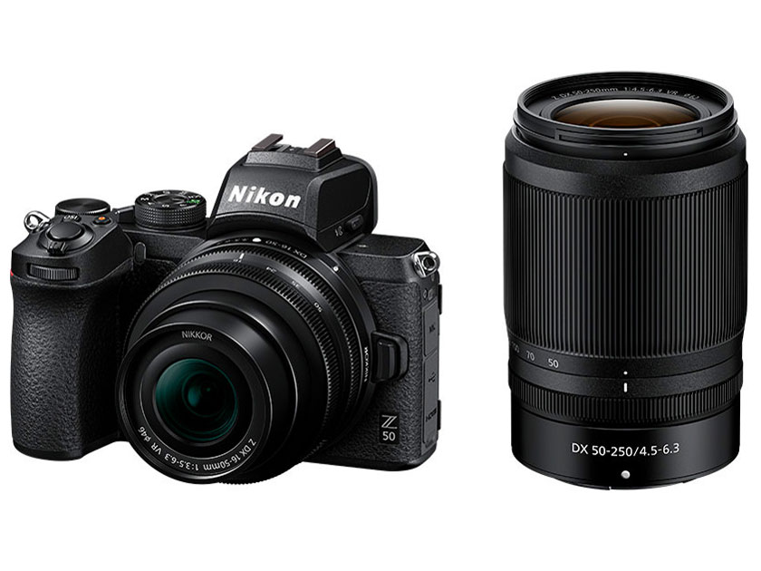 Nikon Z 50 ダブルズームキット【お取り寄せ(4~5週程度)での入荷、発送】