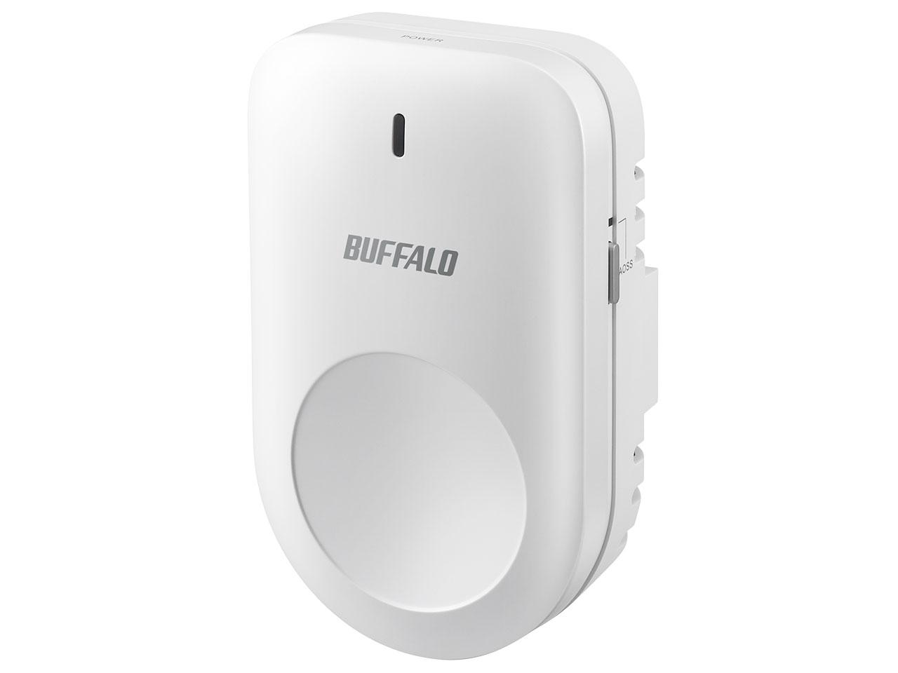 BUFFALO AirStation connect WEM-1266WP [ホワイト]【お取り寄せ商品(3週間~4週間程度での入荷、発送)】