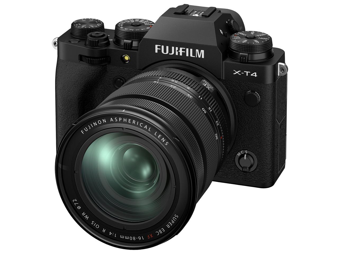 FUJIFILM X-T4 レンズキット [ブラック]【お取り寄せ(メーカー取り寄せ/予約受付中)】※2ヶ月以上
