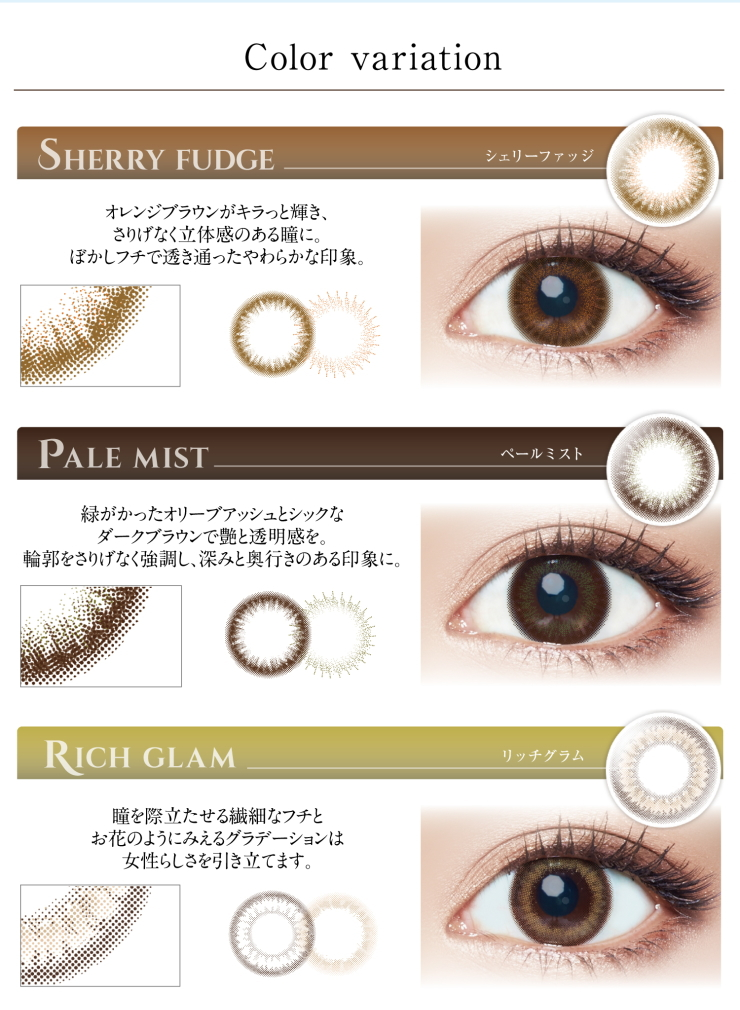 ◆ Ever Color 1day Moist Label  ■Colored contact lens ■  1 Box 10 pcs  /  Daily Disposal  1 Day Colored Contact Lens  DIA14.5mm [Shipping by EMS]