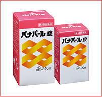 【あす楽対応】パナパール錠240錠【第3類医薬品】
