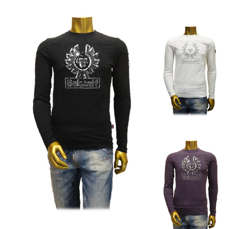 【あす楽】Belstaff(ベルスタッフ) LOGO T-SHIRT L/S MAN / ロゴ Tシャツ / 715632