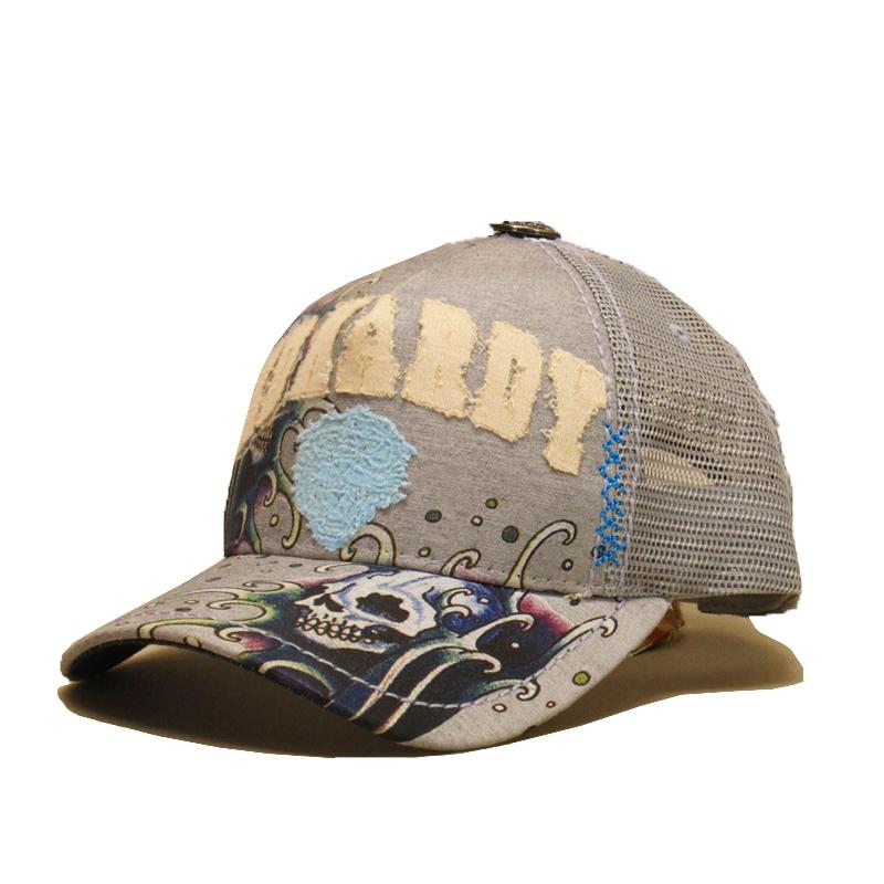 【あす楽】Ed Hardy CAP A1O0DNAZ (エド・ハーディー) 7 SPECIALTY HAT メッシュキャップ 帽子