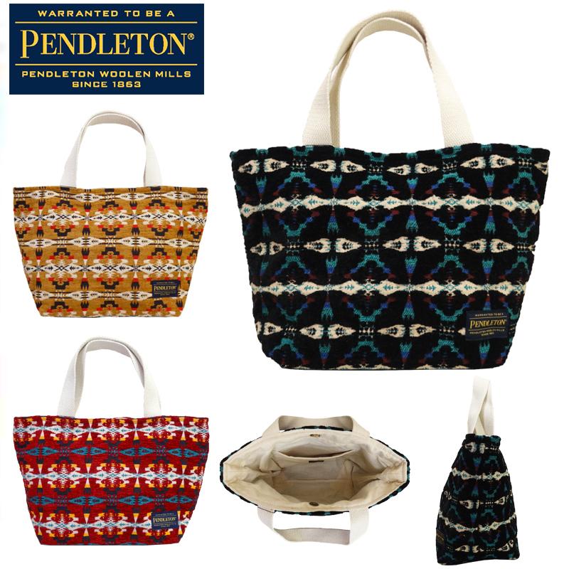 【あす楽】PENDLETON / C/VELVET TOTE-M / ペンドルトン / ベルベット トート バッグ / Mサイズ / TOTE / トートバッグ / PDT-000-184002