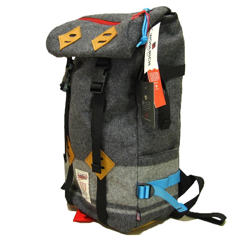 【あす楽】WOOLRICH x TOPO DESIGNS (ウールリッチ x トポデザイン) Backpack (バックパック) 4053