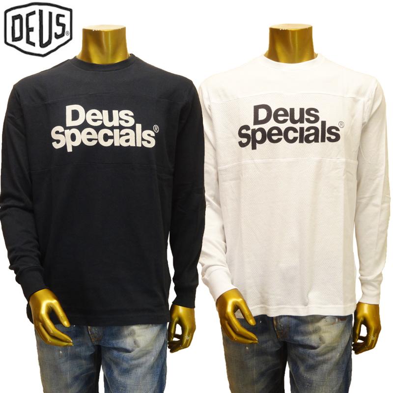 【あす楽】Deus ex machina Specials Moto Jersey DMP61950 / L/S TEE / T-SHIRT / デウス エクス マキナ Tシャツ(長袖)