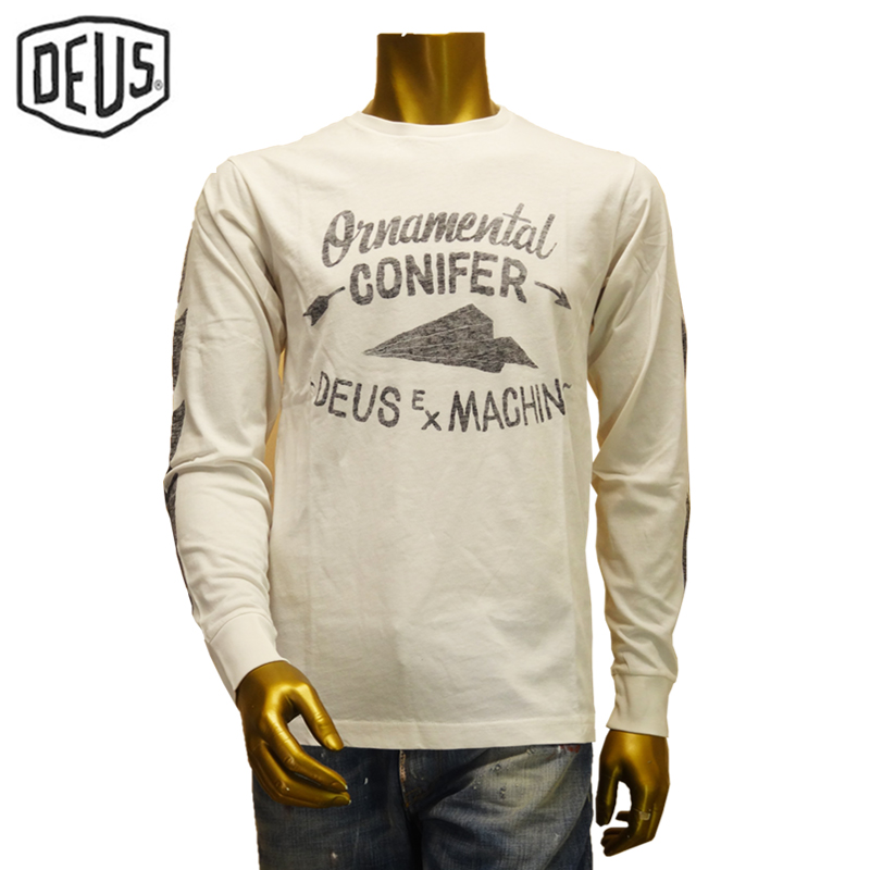 【あす楽】Deus ex machina T-SHIRT DMA51121C ADAMS L/S TEE デウス エクス マキナ Tシャツ(長袖)