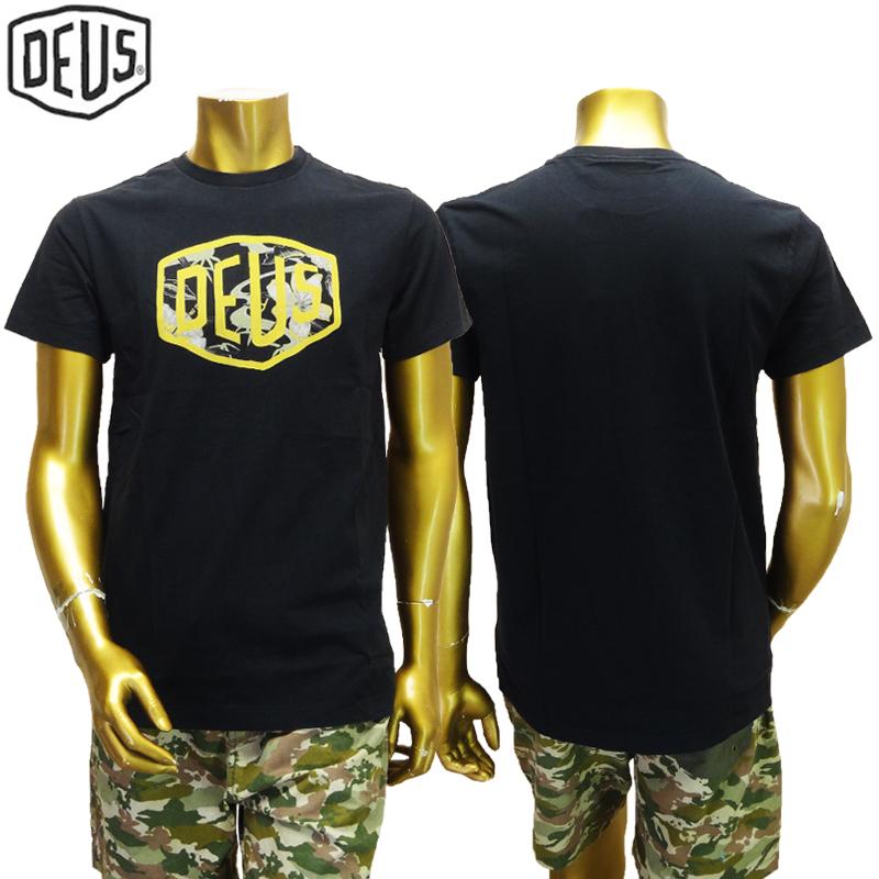 【あす楽】Deus ex machina Aloha Shield Tee / DMP71422 / TEE / T-SHIRT / デウス エクス マキナ Tシャツ