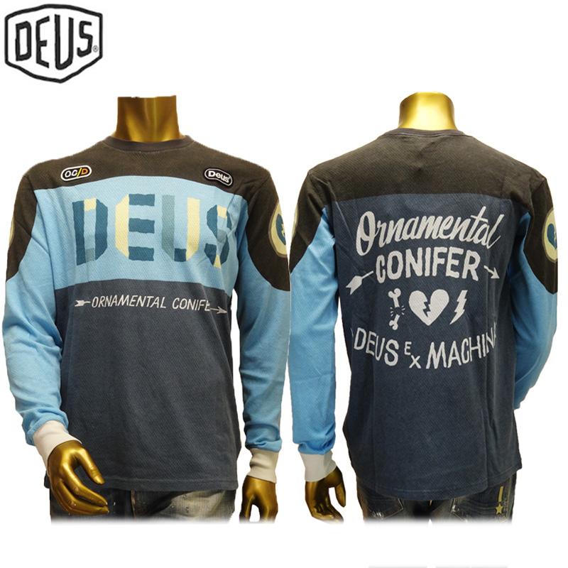 【あす楽】Deus ex machina T-SHIRT DMA51119B OCD MOTO 2 TEE デウス エクス マキナ Tシャツ(長袖)