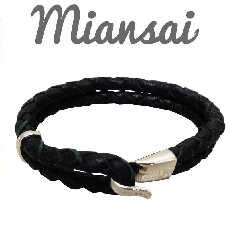 Miansai(미안사이) Beacon Leather Bracelet 팔찌 MB00005L