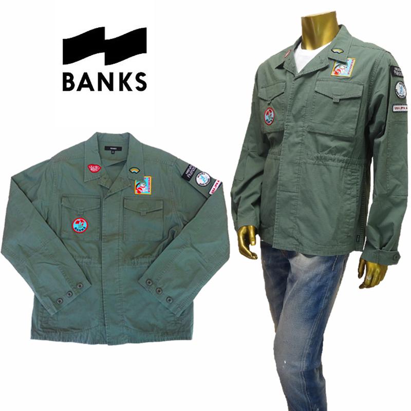【あす楽】BANKS(バンクス) FREEDOM-JACKET (MENS) / ジャケット / ミリタリージャケット / アウター / WJT0027