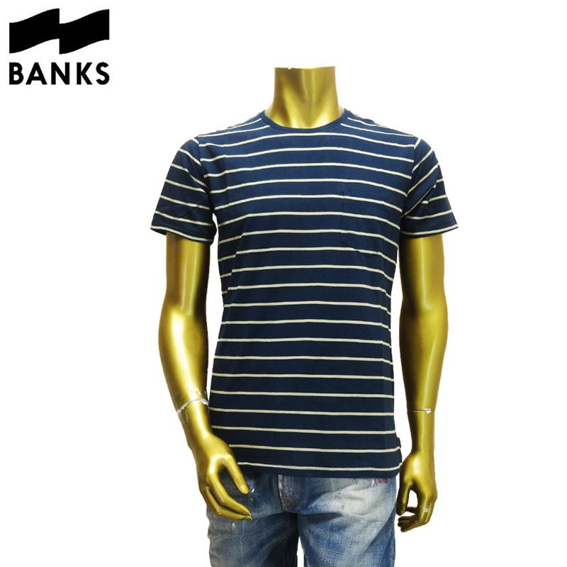 【あす楽】BANKS(バンクス) BOUNDARY TEE SHIRT (ボーダーTシャツ)WTS0045