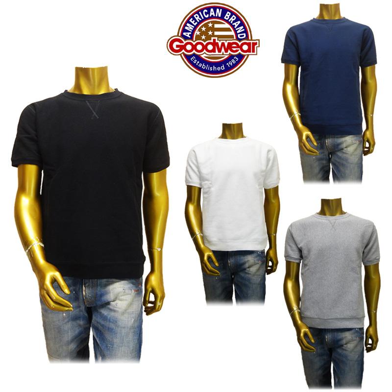 【あす楽】Goodwear(グッドウェア) スウェット/半袖  FL-SS01(GDW-001-161010) (クールネック)