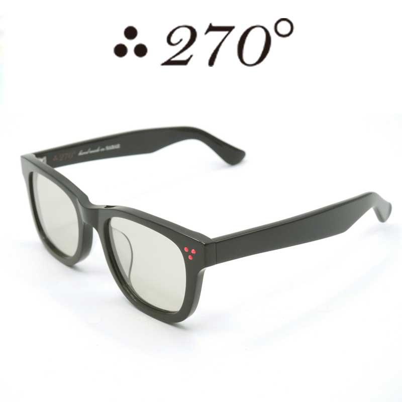 【あす楽】 270°メガネ / two-seventy degrees / 眼鏡 / 伊達メガネ / サングラス / ウエリントン / LAX-BLK-BRN-RED / 専用ケース付 /【送料無料】