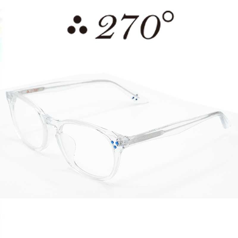 【あす楽】 270°メガネ / two-seventy degrees / 眼鏡 / 伊達メガネ / サングラス / HNL-CLR-CLR-BLU / 専用ケース付 /【送料無料】