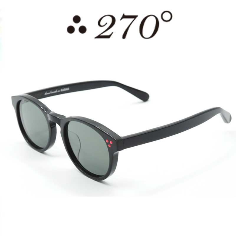 【あす楽】 270°メガネ / two-seventy degrees / 眼鏡 / 伊達メガネ / サングラス / DPS-BLK-BLK-RED / 専用ケース付 /【送料無料】