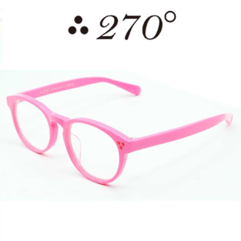 【あす楽】 270°メガネ / two-seventy degrees / 眼鏡 / 伊達メガネ / サングラス / DPS-PNK-CLR-RED / 専用ケース付 /【送料無料】