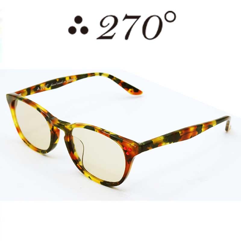 【あす楽】 270°メガネ / two-seventy degrees / 眼鏡 / 伊達メガネ / サングラス / HNL-CAMO-BRN-RED / 専用ケース付 /【送料無料】