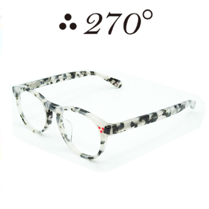 【あす楽】 270°メガネ / two-seventy degrees / 眼鏡 / 伊達メガネ / サングラス / DPS-DALMATIAN-CLR-RED / 専用ケース付 /【送料無料】