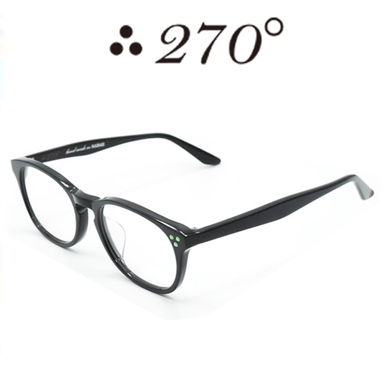 【あす楽】 270°メガネ / two-seventy degrees / 眼鏡 / 伊達メガネ / サングラス / HNL-BLK-CLR-GRN / 専用ケース付 /【送料無料】