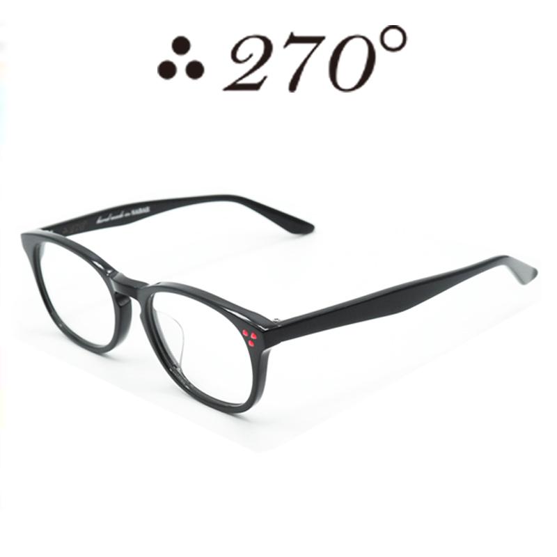 【あす楽】 270°メガネ / two-seventy degrees / 眼鏡 / 伊達メガネ / サングラス / HNL-BLK-CLR-RED / 専用ケース付 /【送料無料】