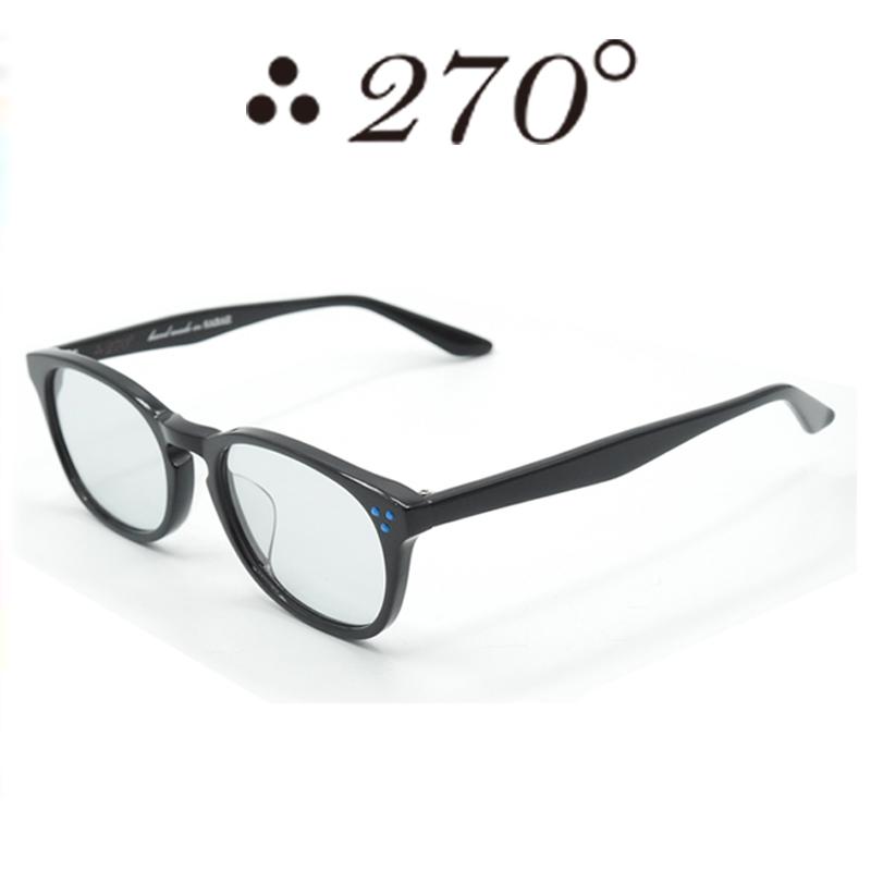 【あす楽】 270°メガネ / two-seventy degrees / 眼鏡 / 伊達メガネ / サングラス / HNL-BLK-GRY-BLU / 専用ケース付 /【送料無料】